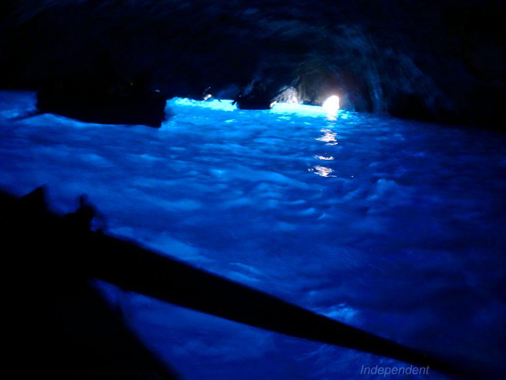 Grotta Azzurra 青の洞窟