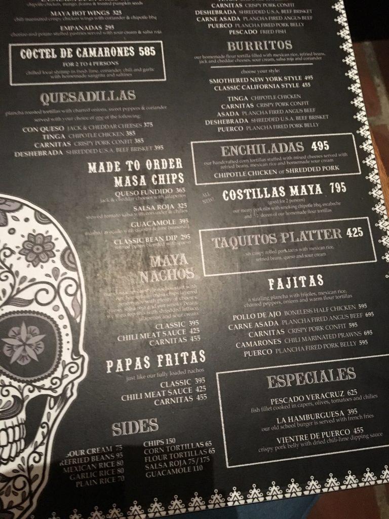 Cebuメキシコ料理MAYA