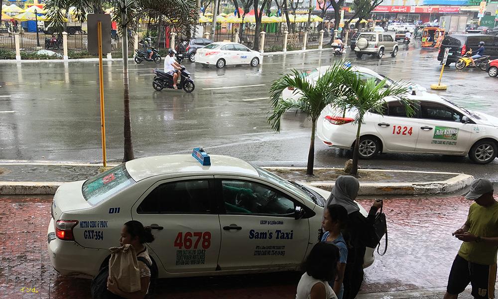 セブ白タクシー