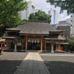 街中にある徳川家康ゆかりの地 小梳(おぐし)神社
